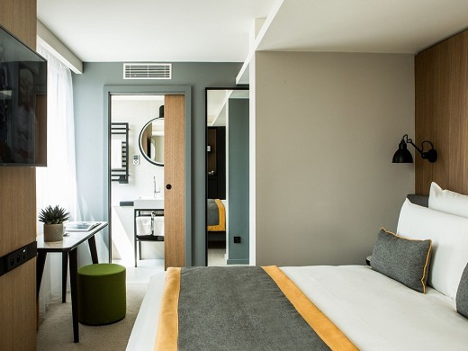 Mercure Paris 17 batignolles - dormitorio