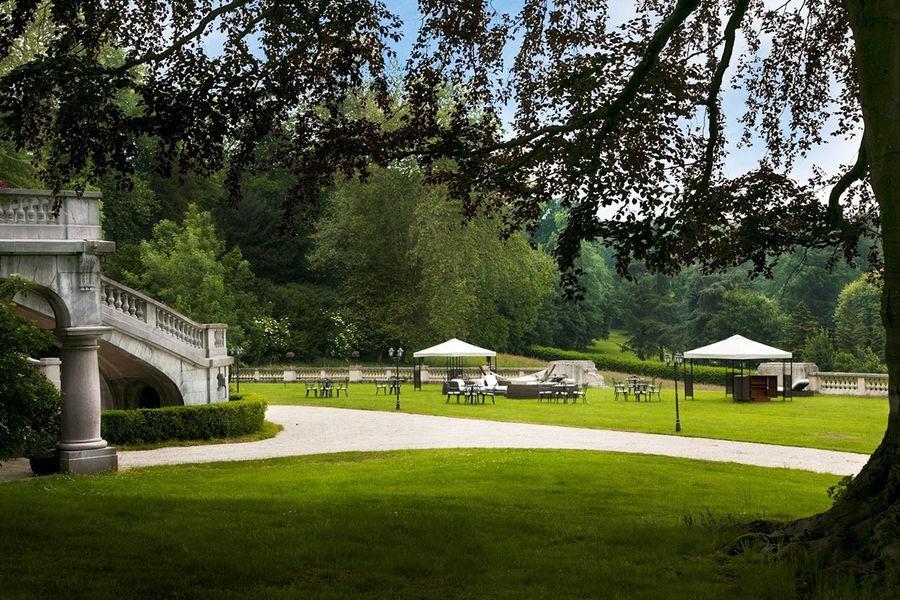 Castle bouffémont - parco