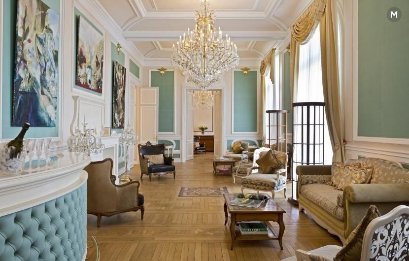 Castle bouffémont - soggiorno