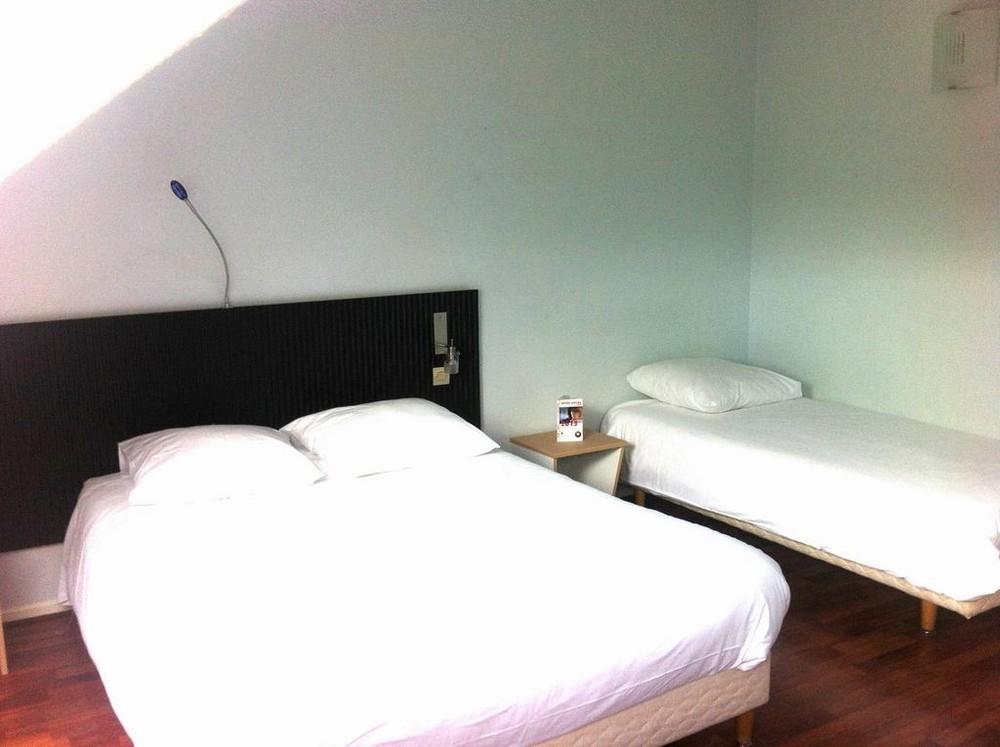 Inter-hôtel bagatelle - chambre