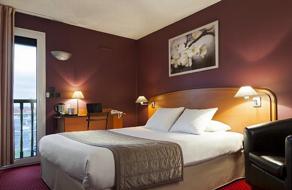 Comfort hotel cdg goussainville - chambre
