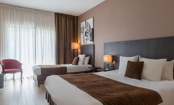 Das Original Golf de l'ailette Hotel - Zweibettzimmer