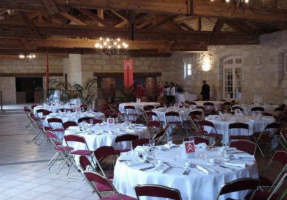 Chateau Goudichaud - Empfangsraum