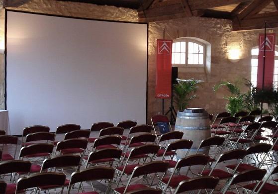Chateau Goudichaud - Theaterstil