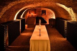 Corton cellar