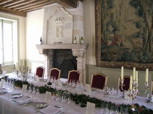 Hôtel particulier régnard - dining room regnard beaune
