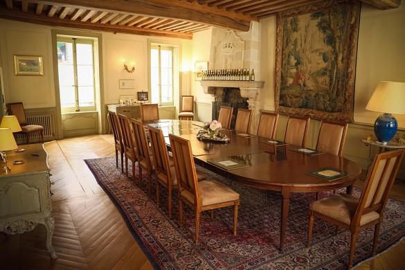 Hôtel particulier régnard - dining room