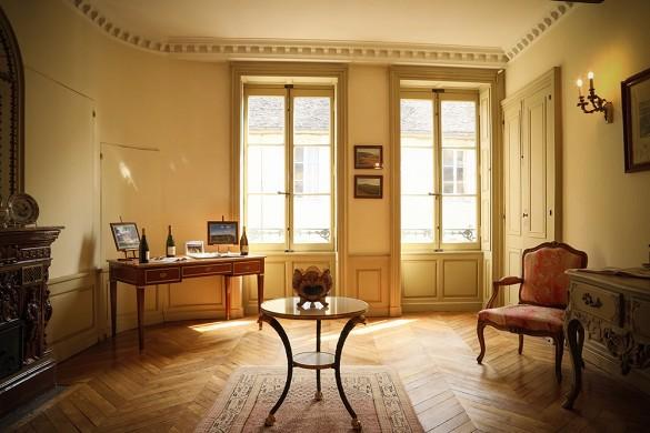 Hôtel particulier régnard - salon Sainte-Marie
