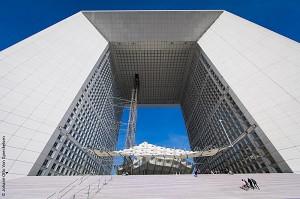 The roof of the Grande Arche - La Défense seminar