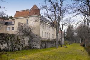 Castle Goutelas - Facciata