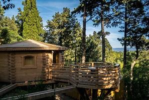 Hotel les Cabanes dans les Bois - Atypischer Seminarort in der Aude