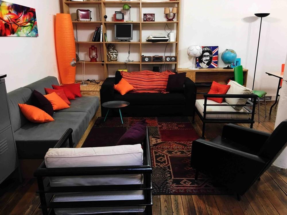 City loft - sala de estar