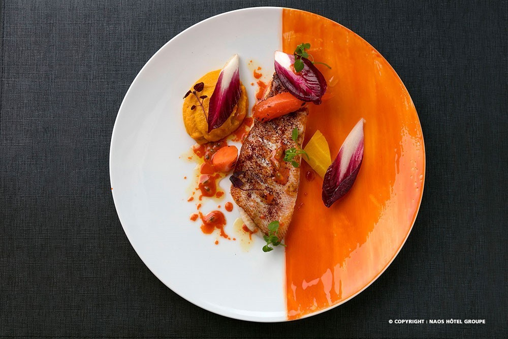 Hampton by hilton paris clichy - dish concocted by chef elodie jego