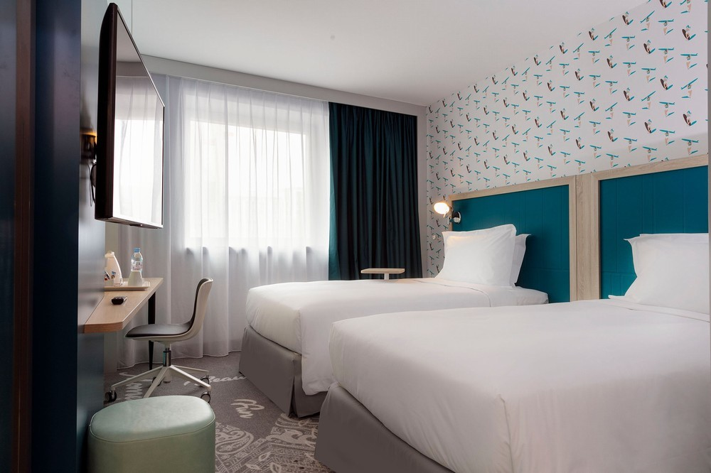 Hampton by Hilton Paris Clichy - Twin Room