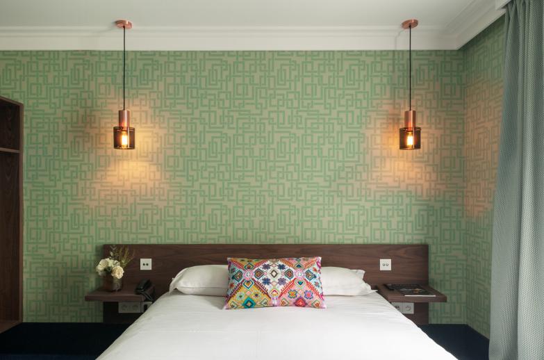 Das Hotel Nantes - Zimmer