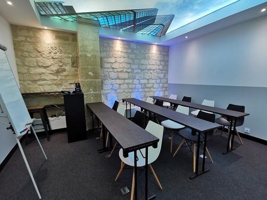 Seven coworking - salle réunion