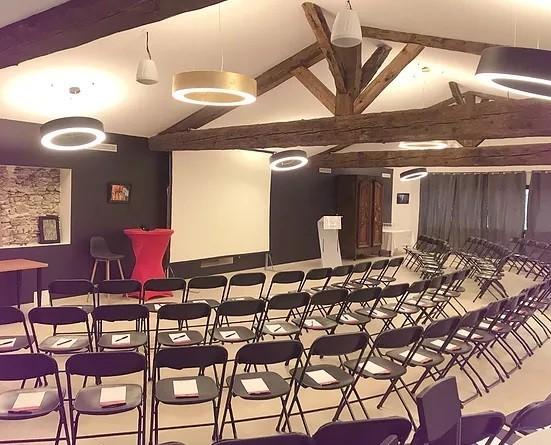 Domaine de gorneton - sala de seminario