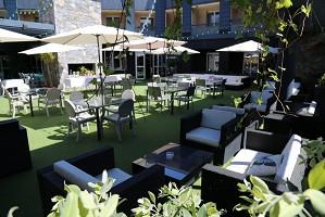 Cors Hotel - Terrasse