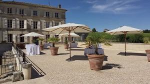 Abbaye de Fontdouce - Reception area