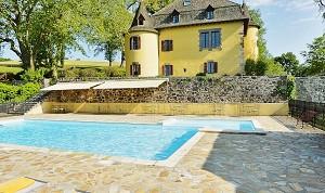 El Chateau de Salles Vézac - fuera