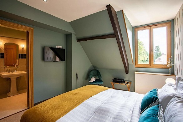 Domaine du roncemay - bedroom