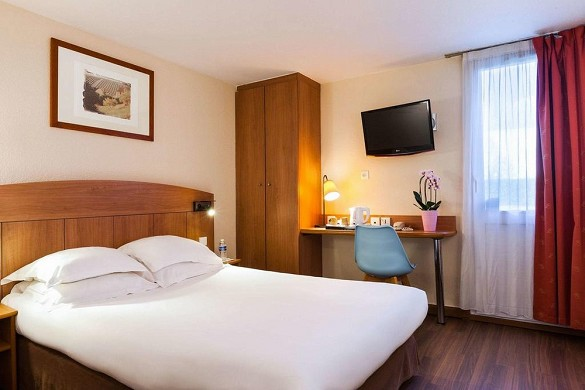 Comfort hotel amiens nord - chambre