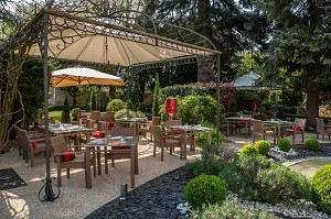 Hostellerie Cèdre e Spa Beaune - Terrazza del ristorante