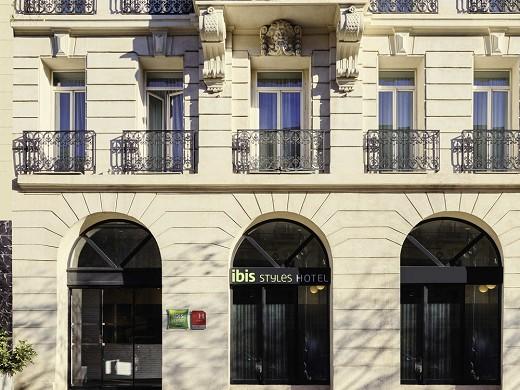 Ibis styles marseille saint-charles station - facade