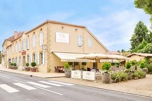 Hotel Restaurant du Commerce - Aire libre