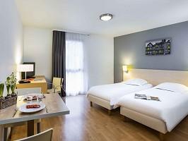 Aparthotel Adagio acceso Rennes Centro - Habitación doble