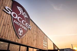 Fútbol Rennais - Exterior del complejo.