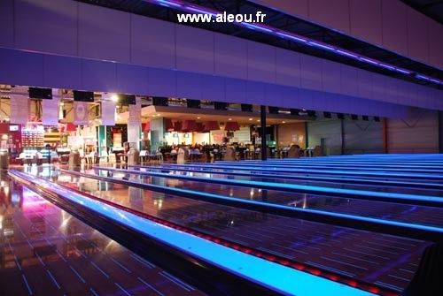 Bowling colorbowl - pistes