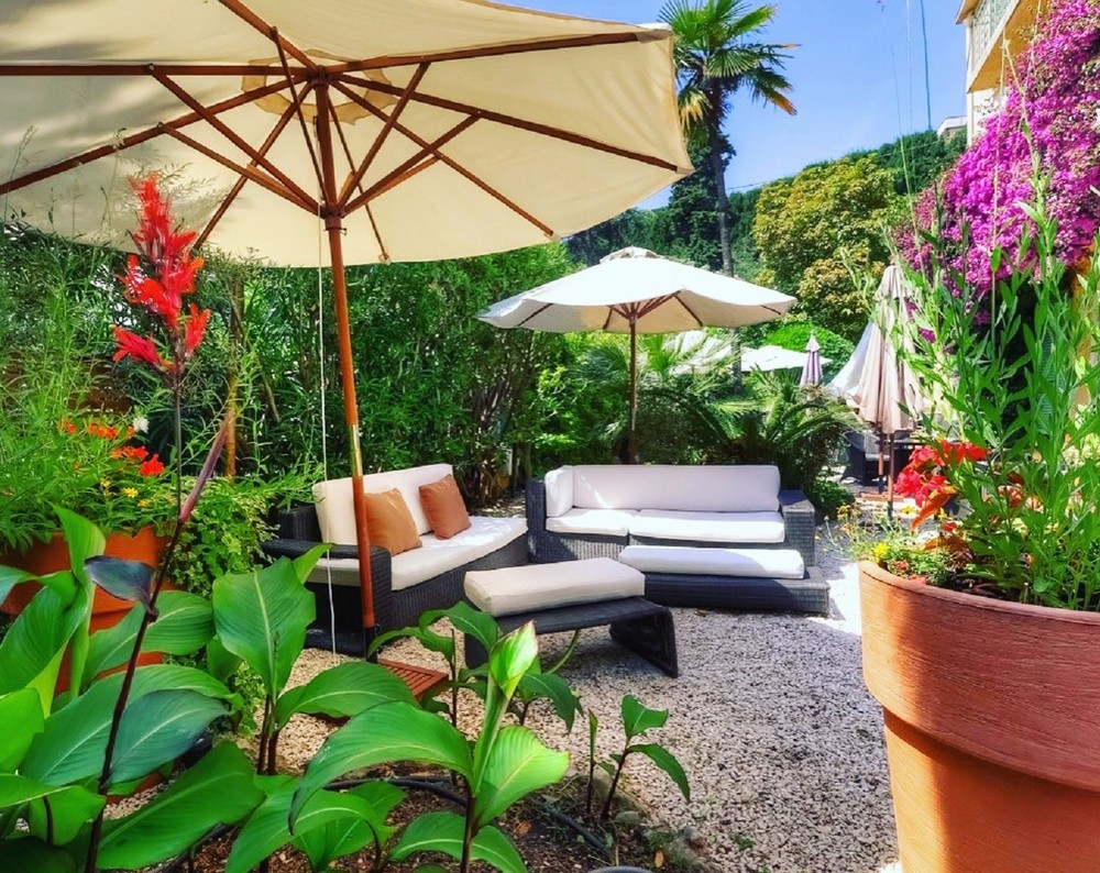 Ideal hotel stay - the garden