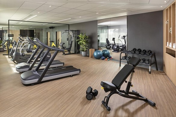 Innside by melia paris Charles de Gaulle - fitness room
