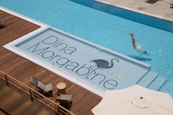 Hotel dina morgabine - piscina