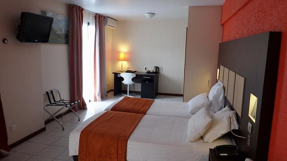 Central hotel cayenne - double room