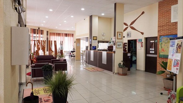 Central hotel cayenne - reception