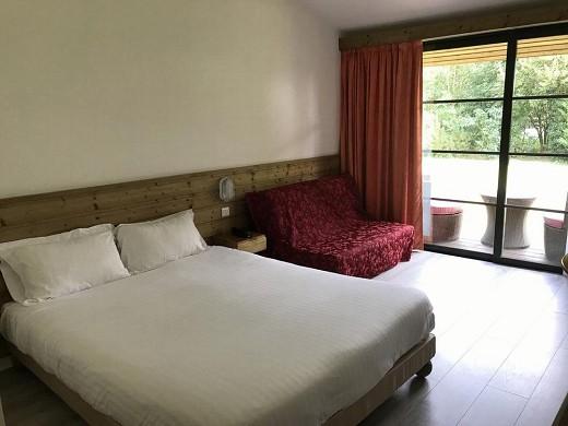 Le vieux logis clam - bedroom
