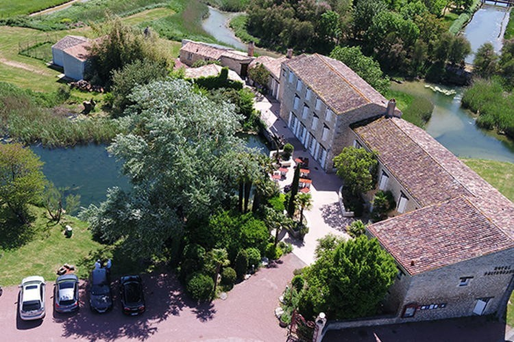 Moulin de châlons - view from above