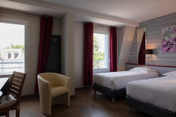 Best western hotel spa pau lescar airport - habitación doble