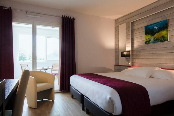 Best western hotel spa pau lescar airport - habitación