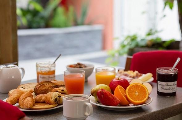 Best western hotel spa pau lescar airport - desayuno