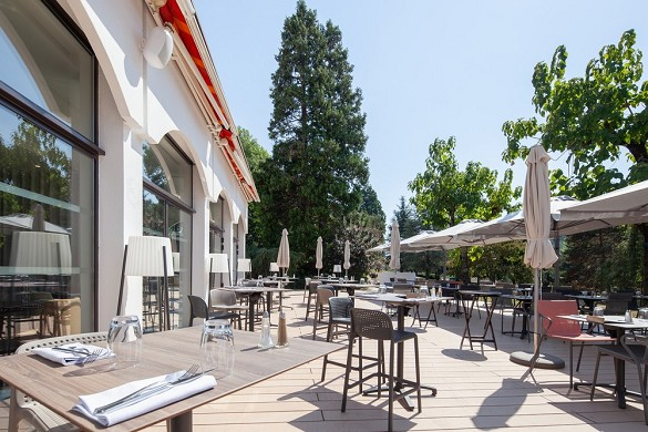 Domaine de Marlioz Aix les Bains - Mercury **** - ibis styles *** - Terrace