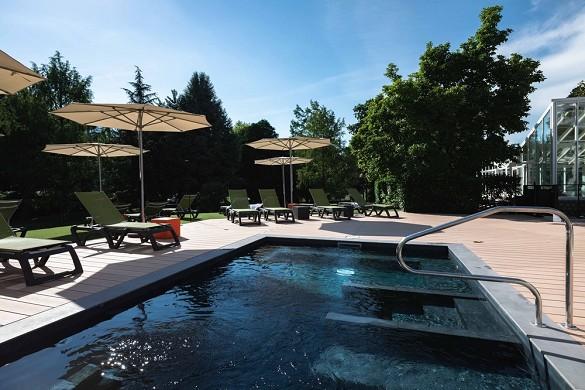 Domaine de Marlioz Aix les Bains - Mercury **** - ibis styles *** - Swimming pool