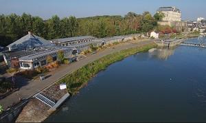 Die Ufer von Sablé - Exterieur