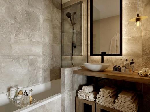 Ecrin blanc resort - bathroom