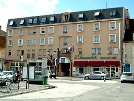 Hotel l'Amandois - Fassade