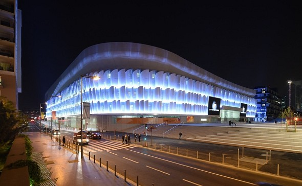 Arena della difesa di Parigi - sede del seminario