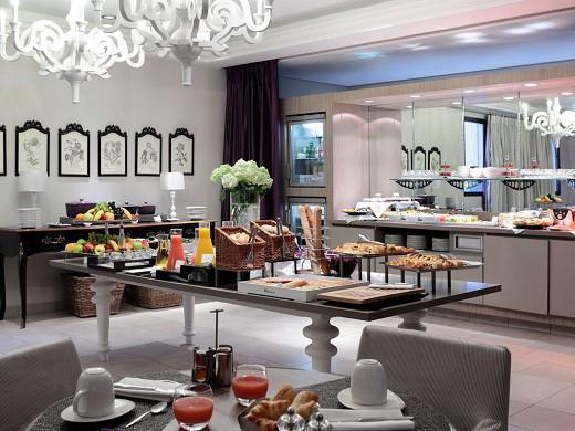 Grand hotel king rené mgallery - colazione