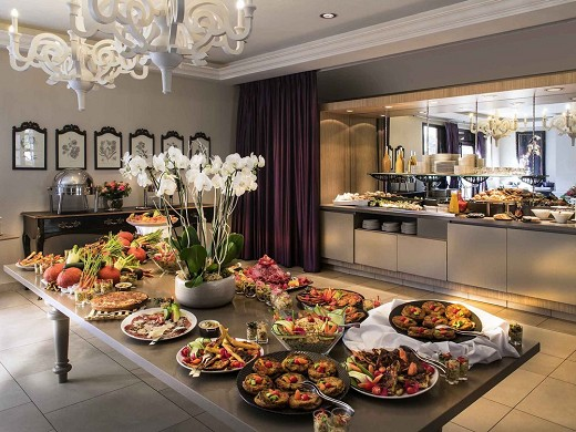 Grand hôtel roi rené mgallery - ristorazione